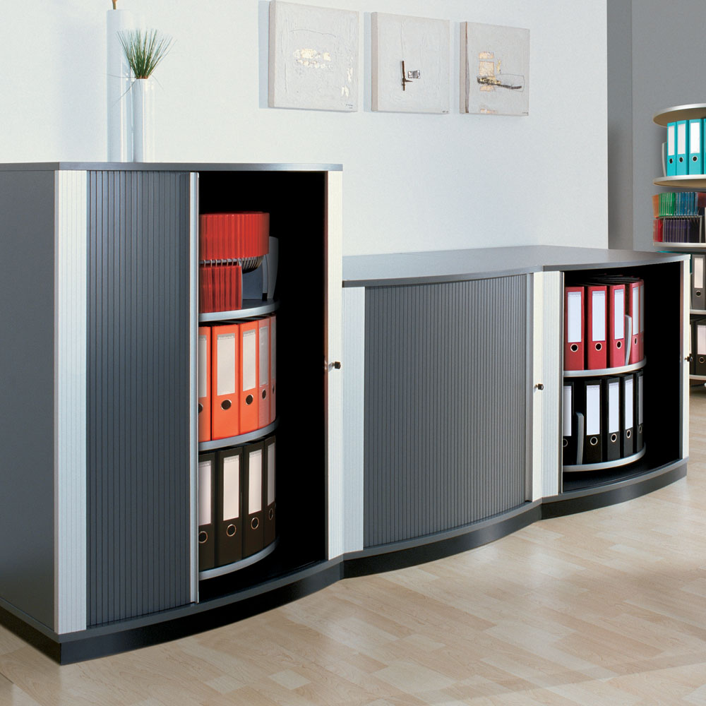 5 tier lockfile carousel cabinet for Carousel for kitchen cabinets