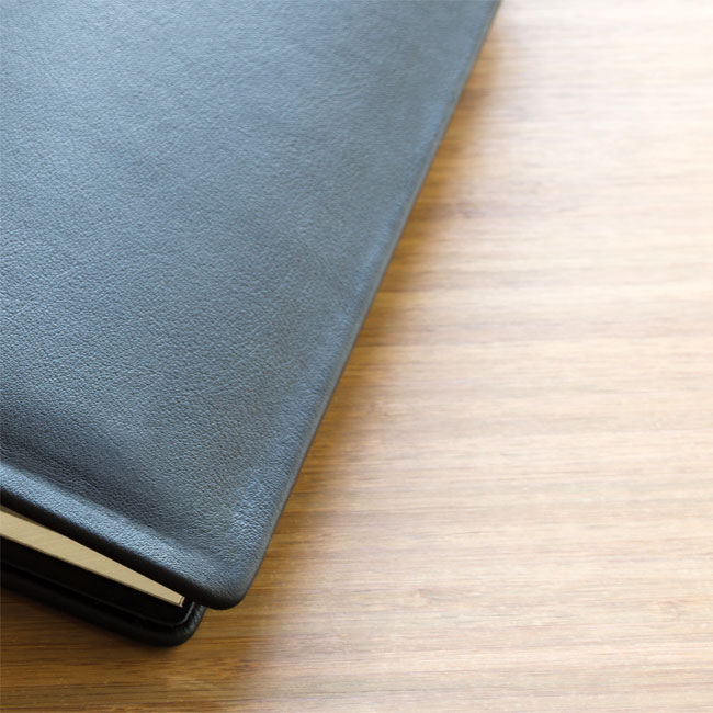 thesis binding leather