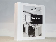 A4 Heavy Duty View Binder - 2.5""