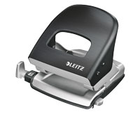 Metal Two-Hole Punch by Leitz