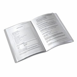Presentation Display Book – 20 Pages