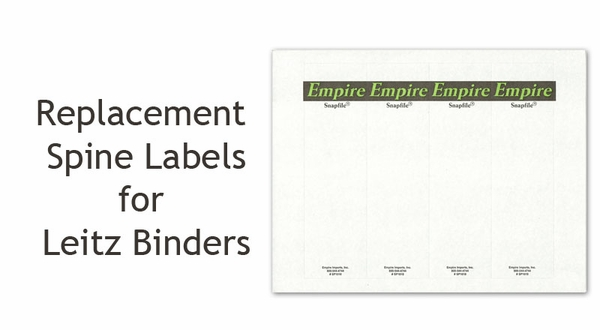how to make spine labels for binders in word