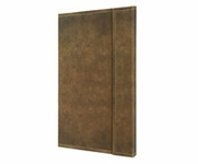 Vintage Hardcover A4 Graph Notebook with Magnetic Closure