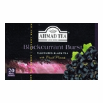 Ahmad Blackcurrant Flavoured Black Tea
