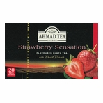 Ahmad Strawberry Flavoured Black Tea