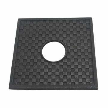 Black Cast Iron Square Trivet