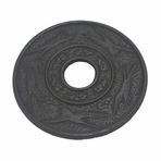 Black Crane Iron Cast Trivet