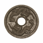 Black Dragon Cast Iron Trivet
