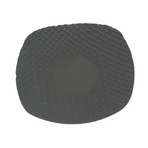 Black Square Iron Saucer
