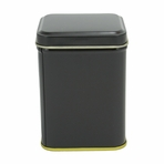 Black Tin Canister (3.4 oz - 5.6 oz)