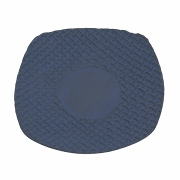 Blue Square Iron Saucer