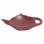 Burgundy Tea Bag Holder