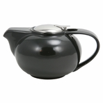 Contemporary Black Ceramic Teapot