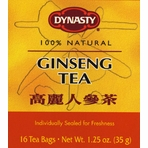 Dynasty Ginseng Tea Bag