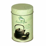 EnjoyingTea Double Lid Tin Canister (2.8 oz - 4.6 oz)