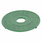 Green Traditional Cast Iron Trivet