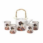 Japanese Ancient Culture Tea Set