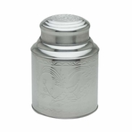 Large Stainless Steel Tea Canister (10.6 oz - 17.3 oz) (Irregular)