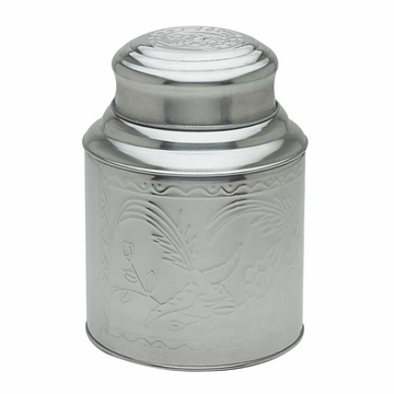 Medium Stainless Steel Tea Canister (4.8 oz - 7.8 oz)