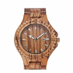 Men's Wood Quartz Watch