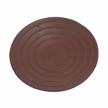 Red Cast Iron Saucer