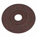 Red Crane Iron Cast Trivet