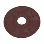 Red Dragonfly Cast Iron Trivet