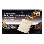 Reuseable Cotton Tea Bag (5 pc)