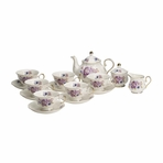 Royal Court Fine Porcelain English Tea Set
