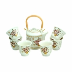 Spring Blossoms Porcelain Tea Set