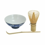 Starter Japanese Tea Ceremony Whisk and Bowl Set