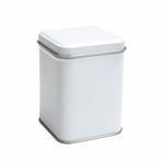 White Tin Canister (3.4 oz - 5.6 oz)