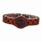Women's Wood Quartz Watch