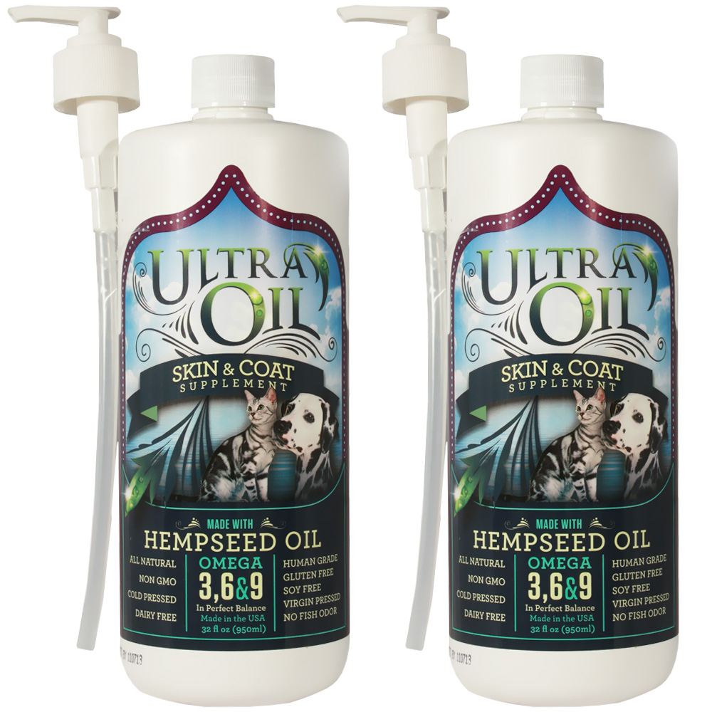 1/2 Gallon Ultra Oil Skin & Coat Supplement with Hempseed Oil (64 oz)