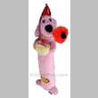 "12"" Loofa Birthday plush (Pink)"