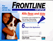 <B>12 Month</B> Frontline Packs