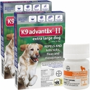 12 MONTH K9 Advantix II BLUE for Extra Large Dogs (over 55 lbs) + Tapeworm Dewormer for Dogs (5 Tablets)