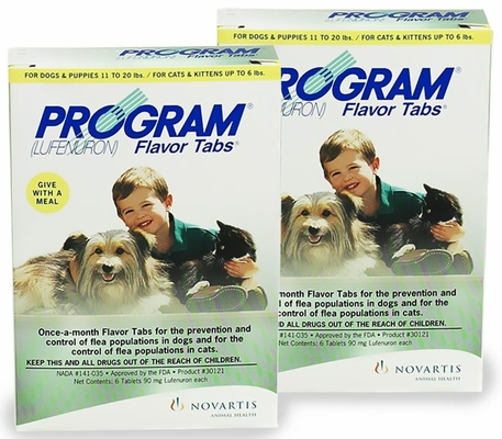 12 MONTH PROGRAM Red For Dogs 11-20 lbs and Cats up to 6 lbs