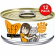 12-PACK Weruva Best Feline Friend Canned Cat Food, Tuna and Salmon Soulmates Recipe (66 oz)
