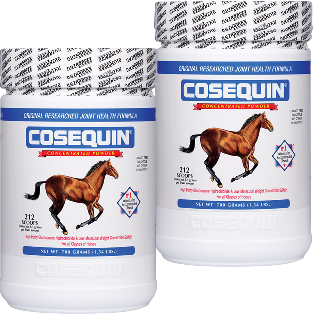 2 Pack Cosequin EQUINE Powder Concentrate (1400 gm total)