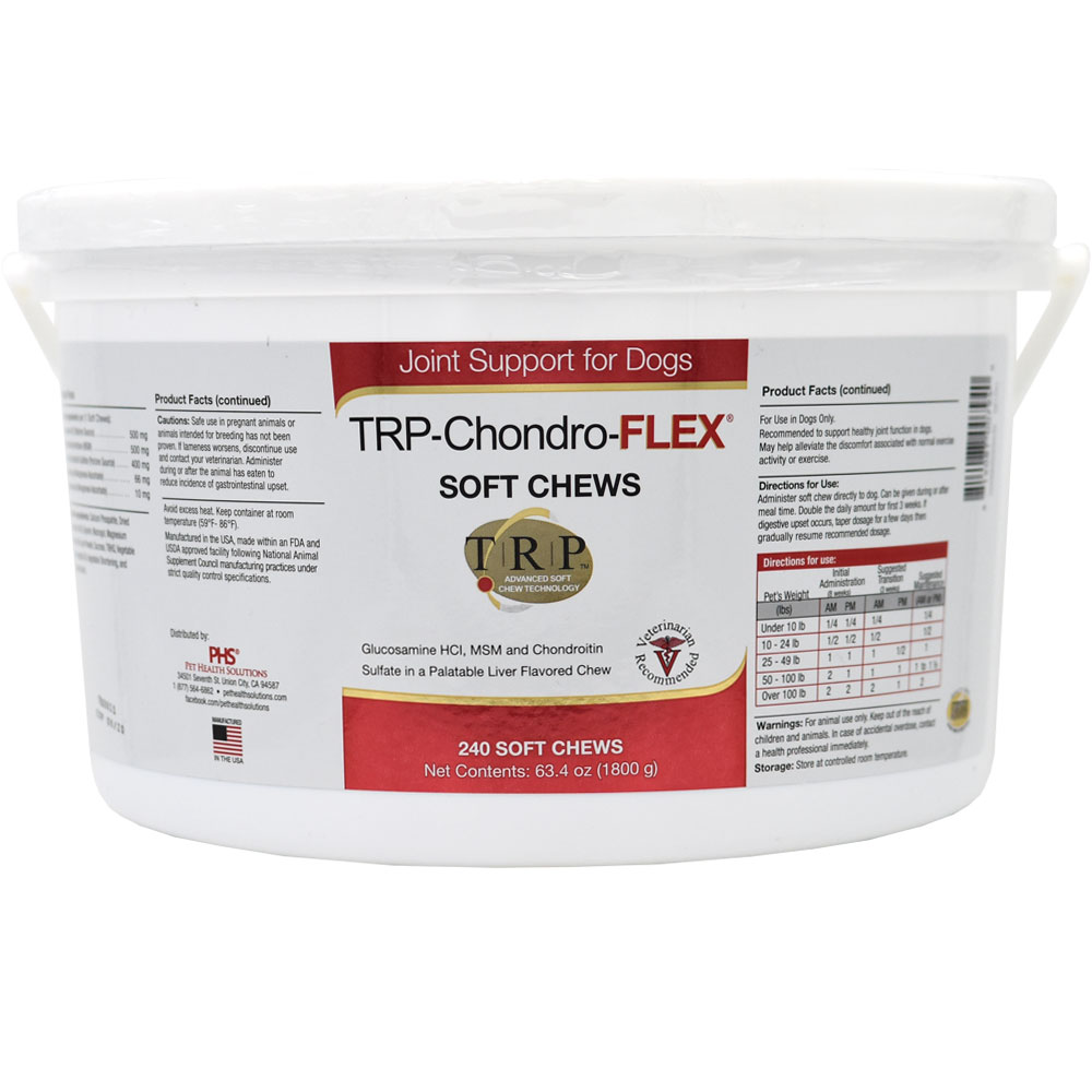 PHS TRP-Chondro-FLEX (240 Soft Chews)