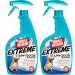 2 PACK Simple Solution EXTREME Stain & Odor Remover Spray (64 fl oz)