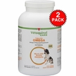 2-PACK Vetoquinol Care Triglyceride Omega Supplement - Large & Giant Breeds (500 Capsules)