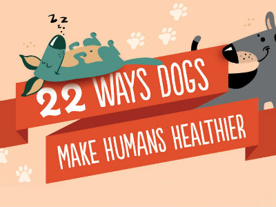 22 Ways Dogs Make Humans Healthier [Infographic]