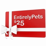 $25 EntirelyPets.com Gift Certificate