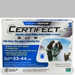 3 Month CERTIFECT BLUE for Dogs 23-44 lbs