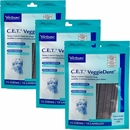 3-PACK CET VeggieDent Chews for Extra Small Dogs (45 count)
