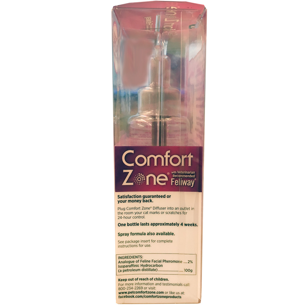 3 Pack Comfort Zone With Feliway Refill 144 Ml