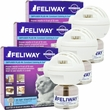 3 PACK FELIWAY 30 Day Starter Kit (144mL)