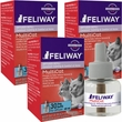 3 PACK FELIWAY MultiCat 30 Day Refill (144 ml)